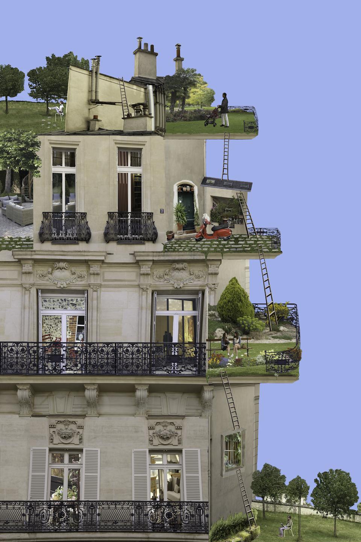 Maison & Jardin Magazine : Evasion Portraits d'artiste
