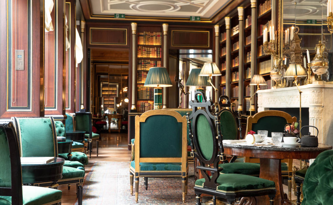 Maison & Jardin magazine La Reserve Paris Library @Gregoire Gardette 6.jpg
