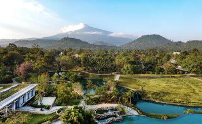 Maison & Jardin magazine Gran Melia Arusha vue aérienne