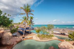 Maison et Jardin Magazine: Anantara Bazaruto piscine