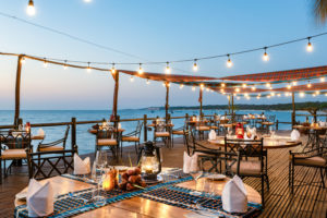 Maison et Jardin Magazine: Anantara Bazaruto restaurant