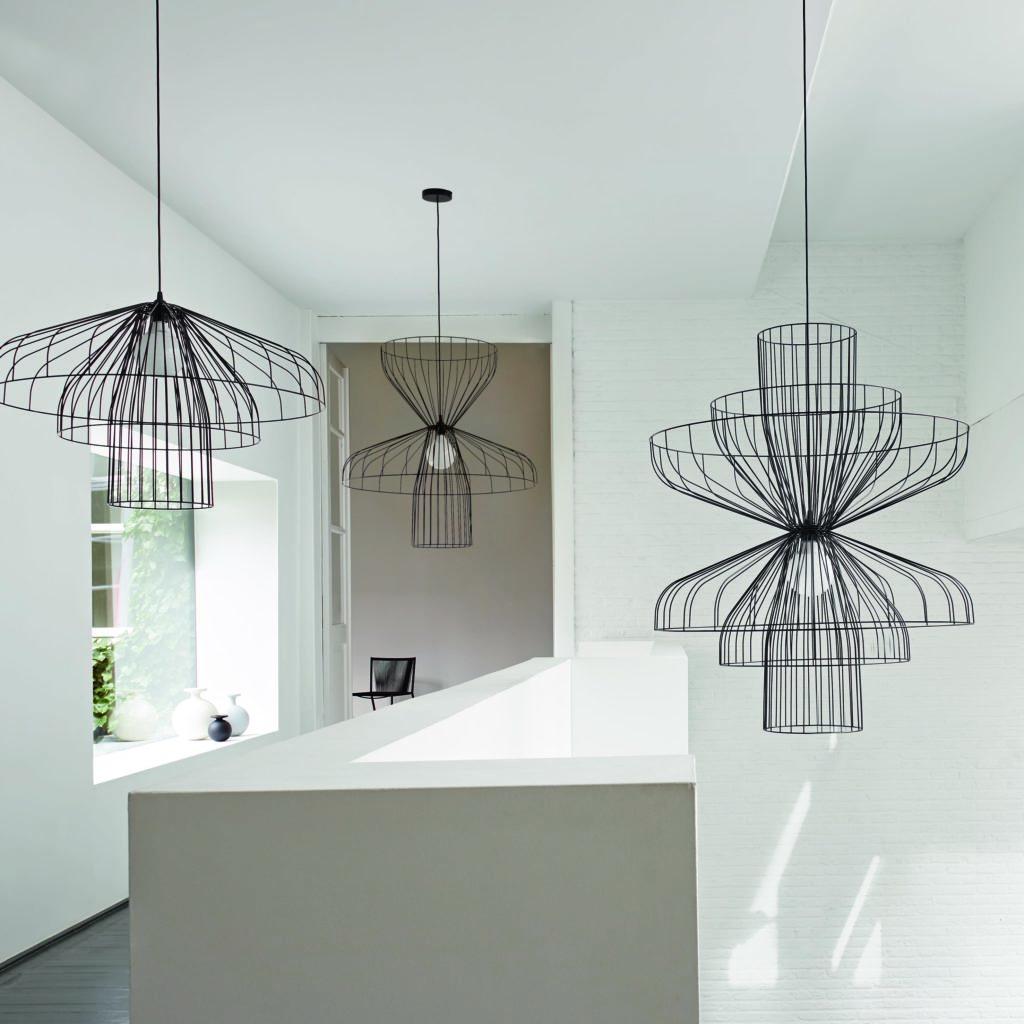 maison & Jardin Magazine Luminaire Cinna Parachute