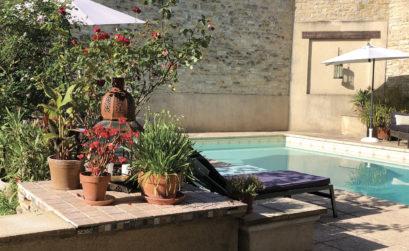 Maison & Jardin Magazine La cour des Délices
