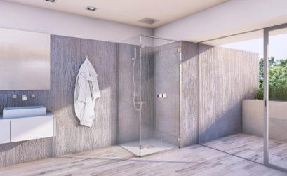 Maison et Jardin Magazine salle de bains avec douche luxueuse