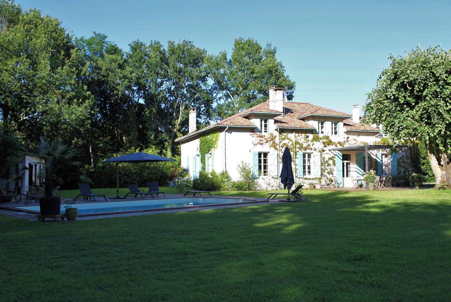 Maison & Jardin magazine Bel Air maison d'hôtes au coeur des Landes