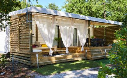 Maison & Jardin magazine, le cadre idyllique du Camping Pleine Forêt