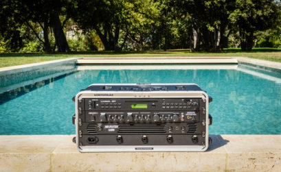 Maison & Jardin magazine Fase et son système exclusif de sonorisation subaquatique