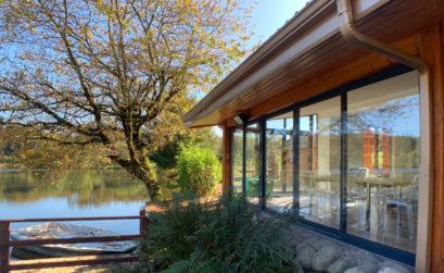 Maison & Jardin Magazine verandas avec vue sur un lac