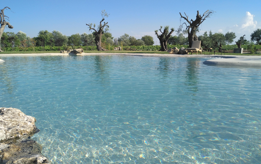 Maison & Jardin magazine aime les étangs de baignade de Lagoon