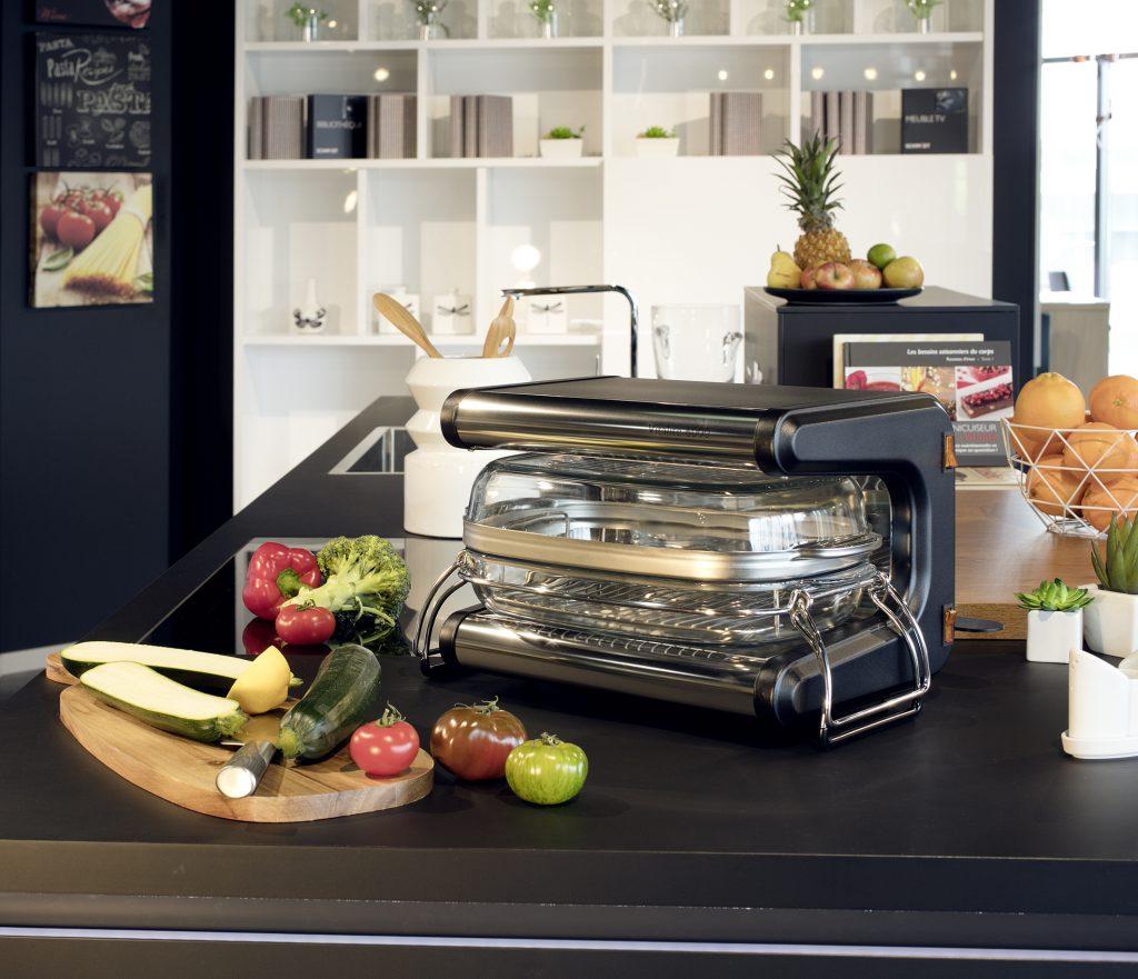 Maison & Jardin magazine aime cuisiner sainement avec L'omnicuiseur Vitalité
