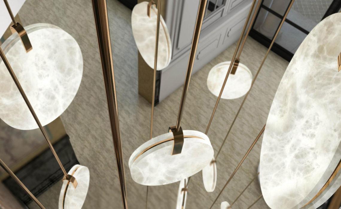 Maison & Jardin magazine a un coup de coeur pour les Luminaires de l'Atelier Alain Ellouz