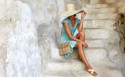 Les créations beach-wear de beau comme un lundi embellissent le dressing de Maison & Jardin magazine