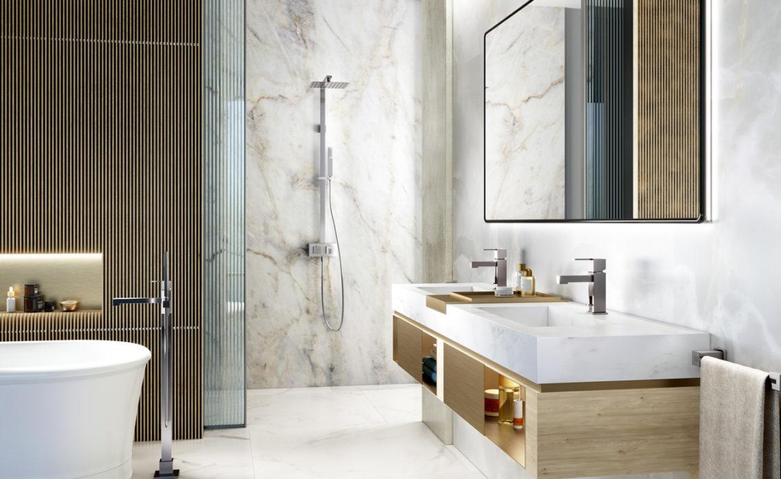 Maison & Jardin magazine décore sa salle de bain avec les accessoires FOWO