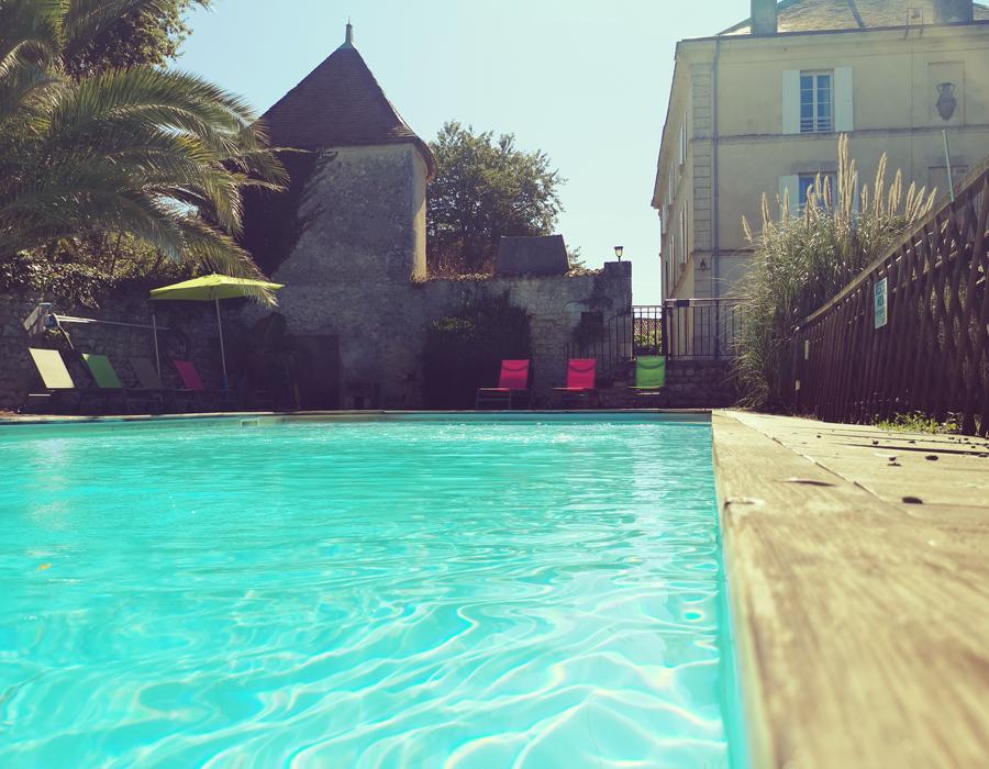 Maison & Jardin magazine en séjour au Domaine de Rochebonne