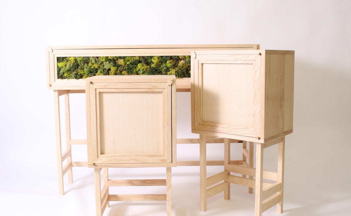 Maison & Jardin magazine aime le mobilier de EBEN Créations
