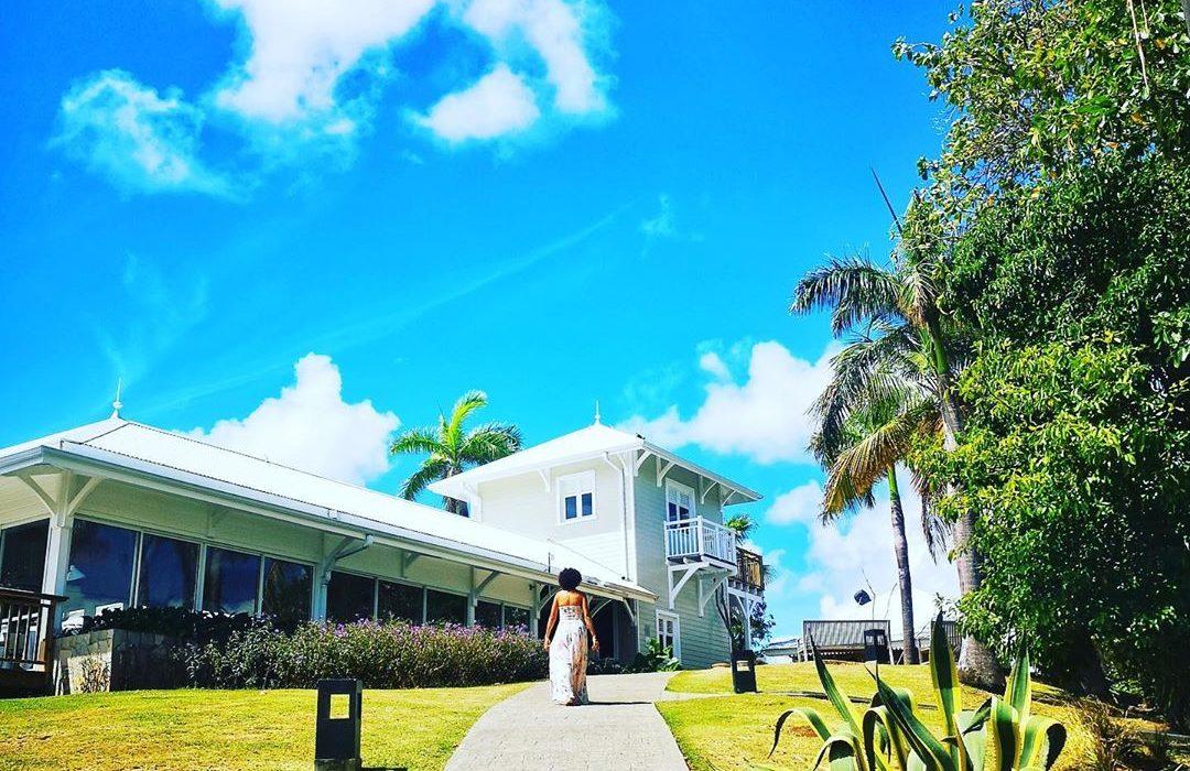 Maison & Jardin magazine en séjour à l'Hôtel Plein Soleil en Martinique