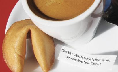 Maison & Jardin magazine croque dans les fortune cookie de Happycookie