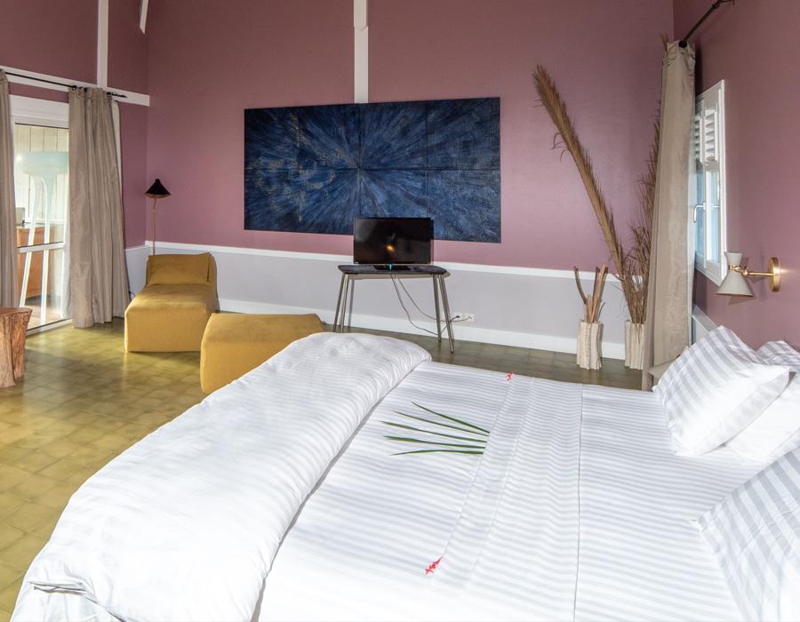 Maison & Jardin magazine en séjour à l'Hôtel Plein Soleil