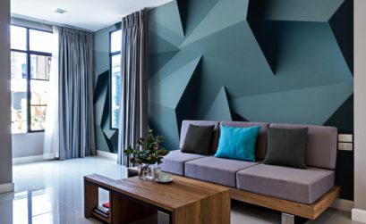 Maison & Jardin magazine décore ses murs grâce à Image Verte