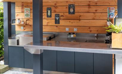 Maison & Jardin magazine aime les cuisines outdoor de M5S Cuisine