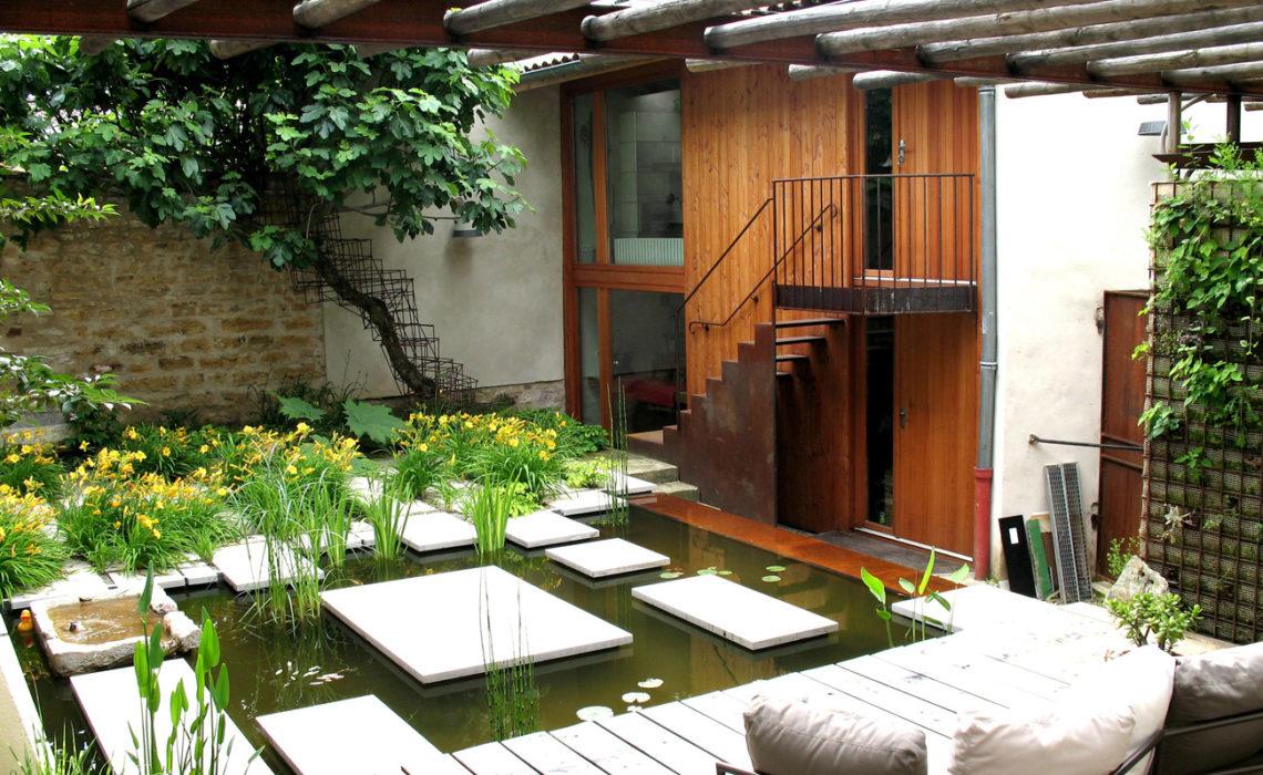 Maison & Jardin magazine aime les aménagements de VR Jardins et Paysages