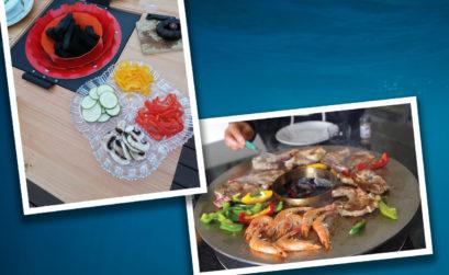 Maison & Jardin magazine, utilise EG Plancha pour ses repas entre amis