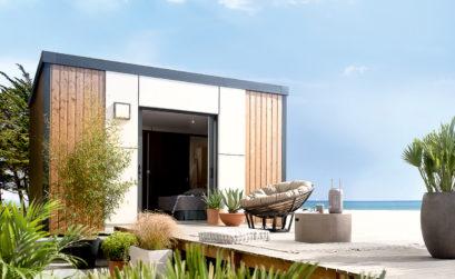 Maison & Jardin magazine aime les mobil-homes de Azur Résidence Mobile