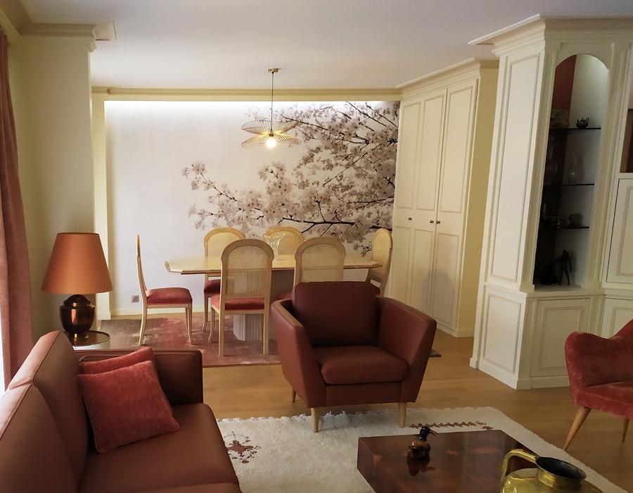 Maison & Jardin magazine, Corinne Thomet décoration