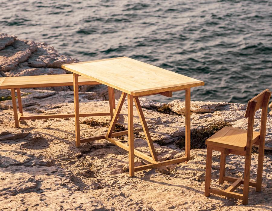 Maison & Jardin magazine aime le mobilier de Malo Mangin