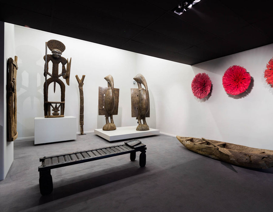 La galerie d'art africain Essentiel Gallerie
