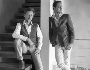 Les architectes Caprini et Pellerin