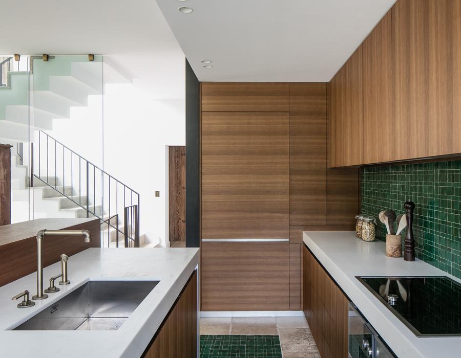 la cuisine de la villa contemporaine Casa Vara