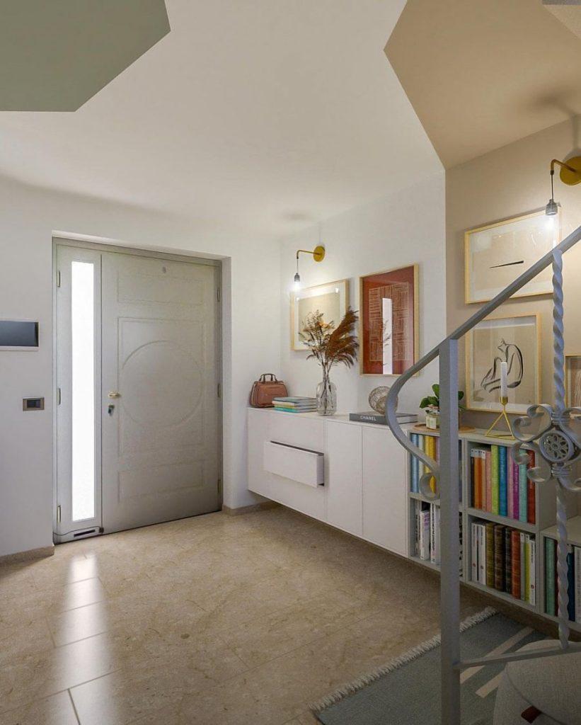 Soignez votre entrée, re-aménagement d'une entrée par Lia Lovisolo