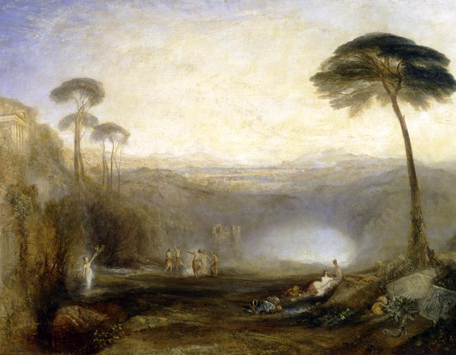 J. M. W. Turner (1775 – 1851), Le Rameau d'or, exposé en 1834, huile sur toile, 104,1 x 163,8 cm, Tate, offert par Robert Vernon, 1847, Photo © Tate