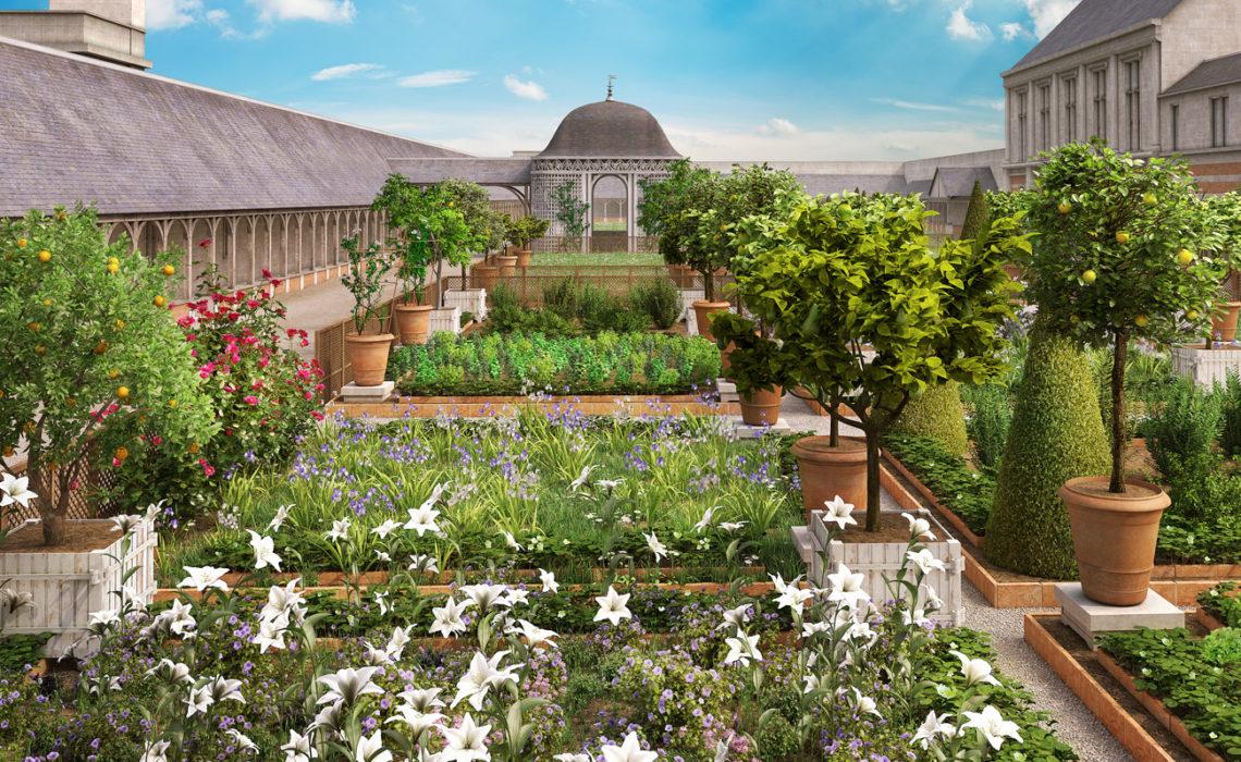 La reconstitution du jardin d'Amboise