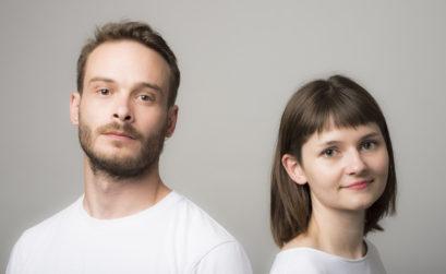 Natacha Poutoux et Sacha Hourcade fondateurs du studio natacha.sacha