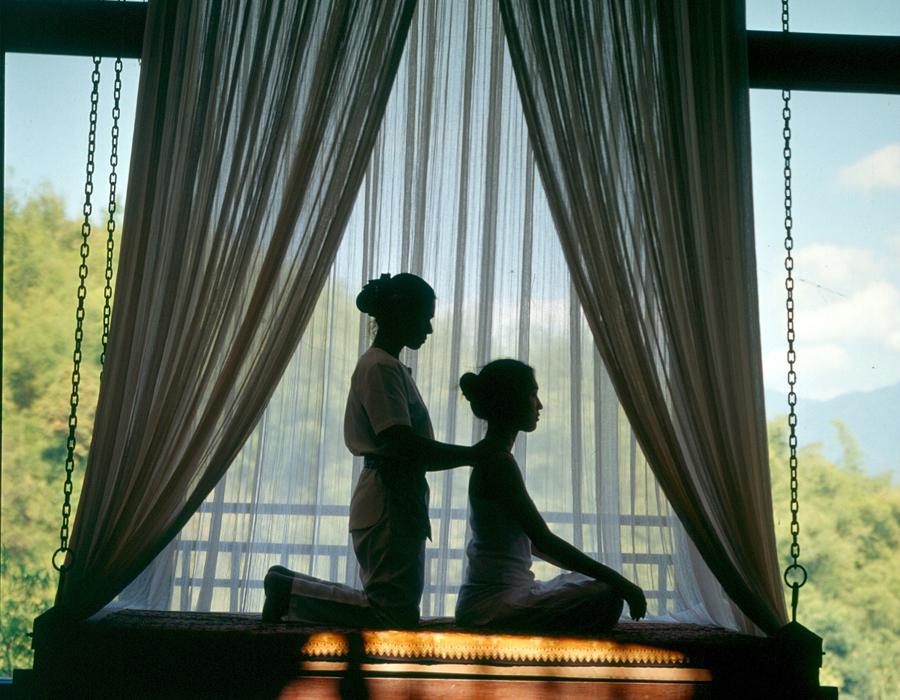 Massage Thaï à l'hôtel Anantara Golden Triangle Elephant Camp & Resort