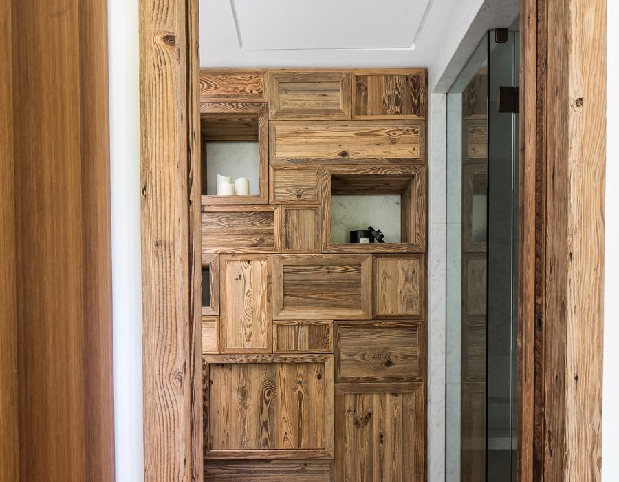 le modilier d'une salle de bain de la villa contemporaine Casa Vara
