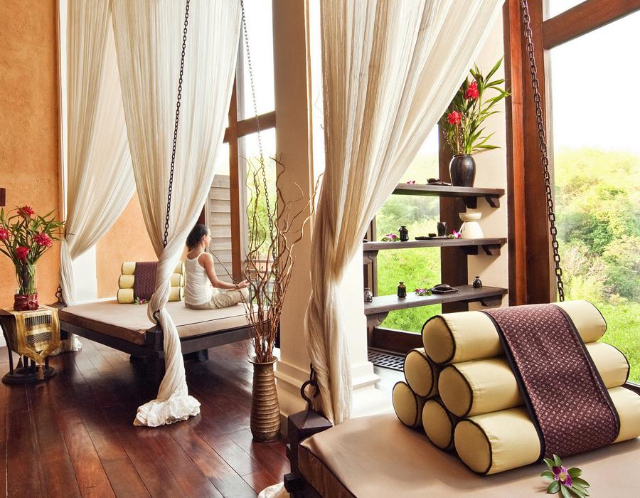 Le Spa de l'hôtel Anantara Golden Triangle Elephant Camp & Resort