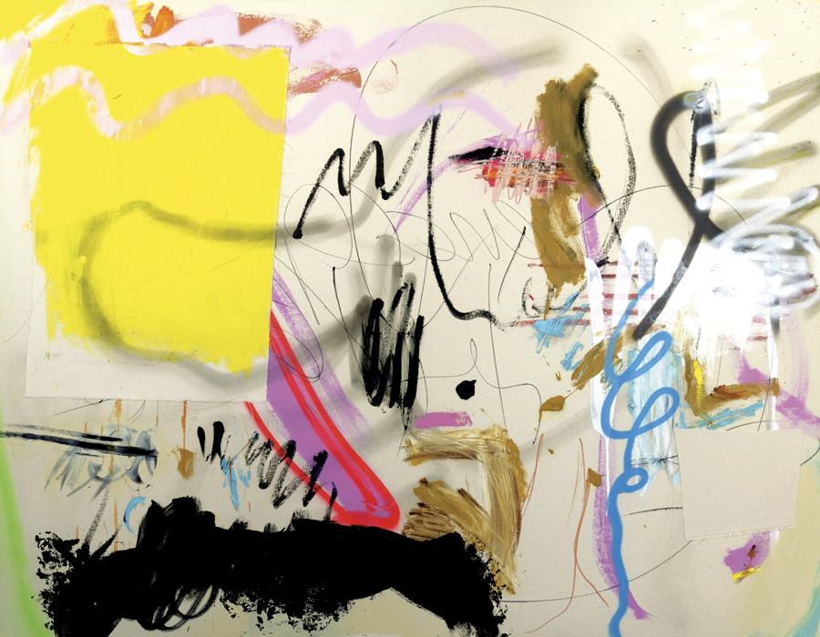 Entre peinture et écriture Parce que je t'aime par par Nataly Goubet
