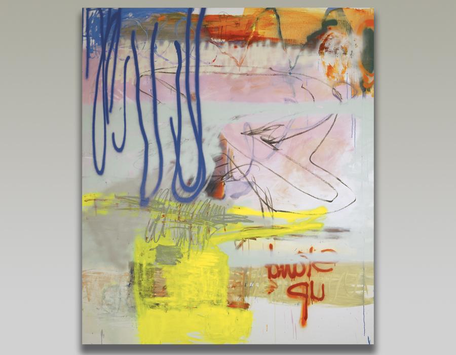 Entre peinture et écriture Stand Up par Nataly Goubet