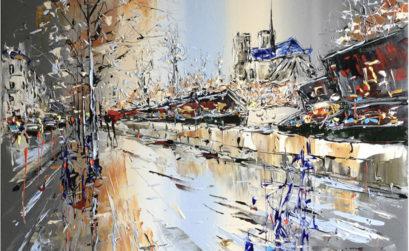 Paris par le peintre Patrick Rousseau