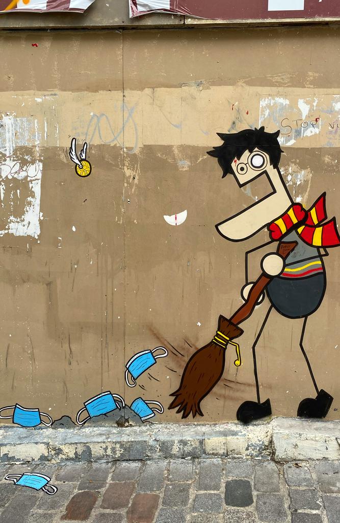 Le street art by Toctoc