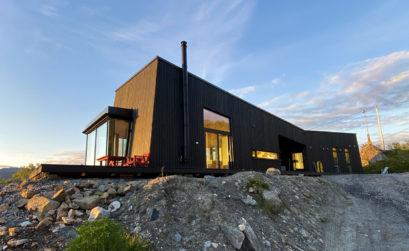 Un chalet d'architecte norvégien qui côtoie fjords et étoiles