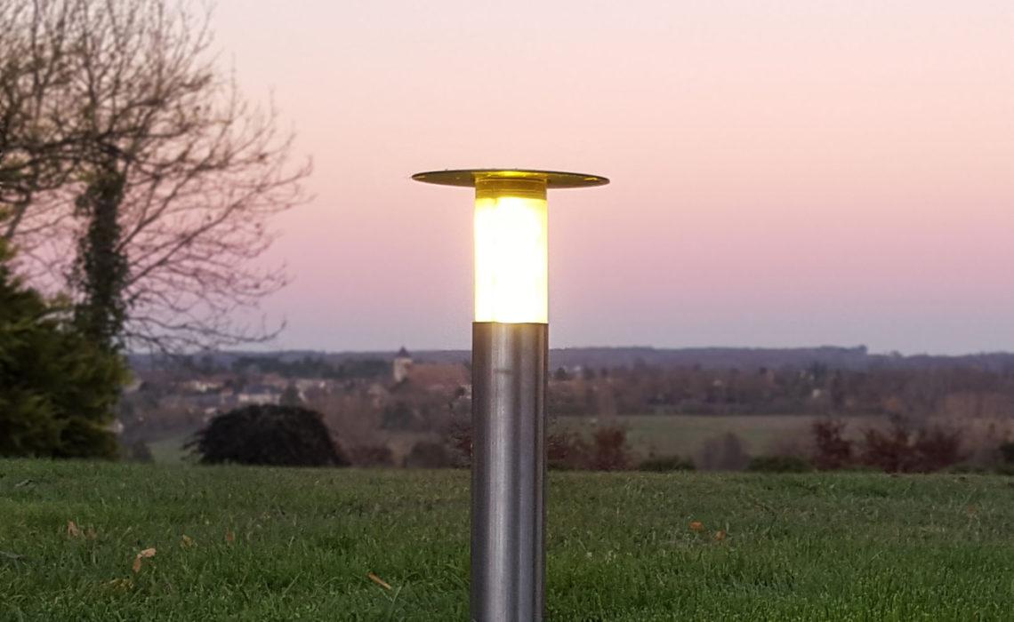Lucie, la lampe extérieure escamotable