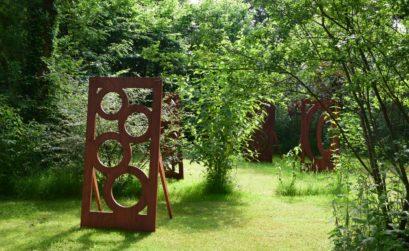 Les sculptures de Jardin Land Ji