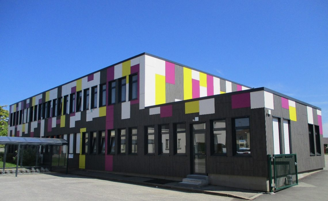 Des bâtiments à l'architecture écologique en Mayenne
