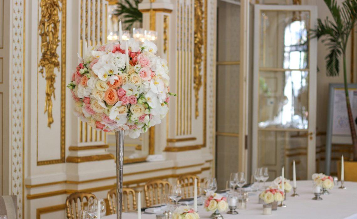 Fleuriste mariage Paris : des bouquets de fleurs à couper le souffle