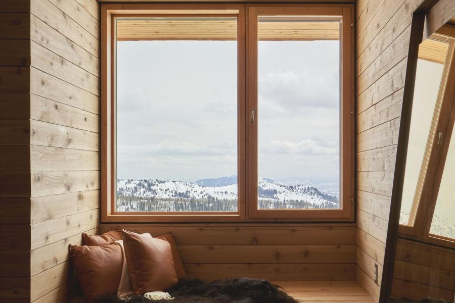 Les chalets de Powder Mountains en Utah