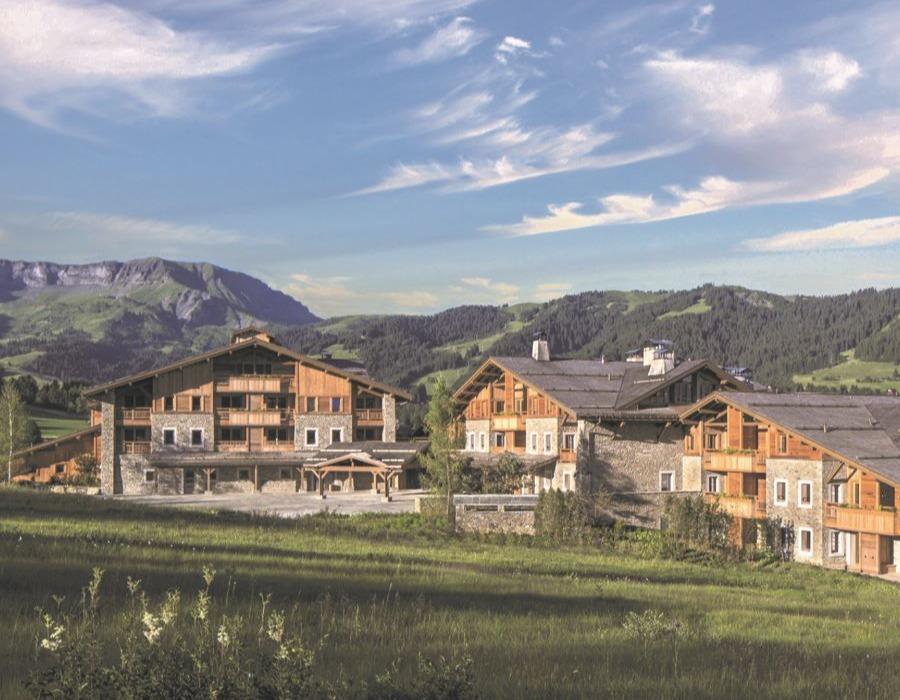 hotel dans la montagne